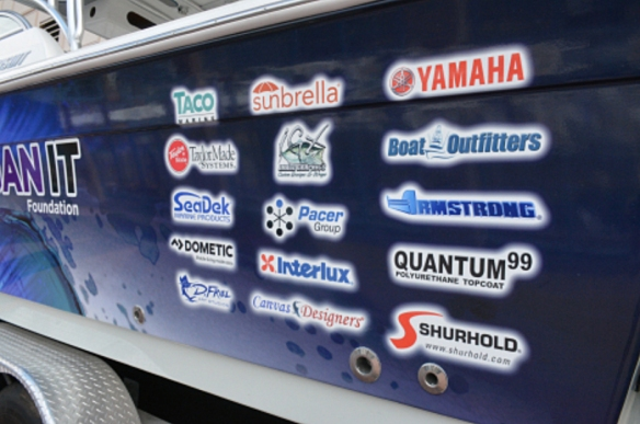 Taco Marine Project Boat Sponsors